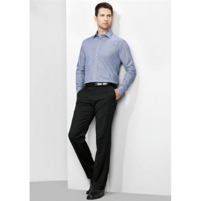 Cool Stretch Mens Plain Flat Front Pant - Reg & Stout