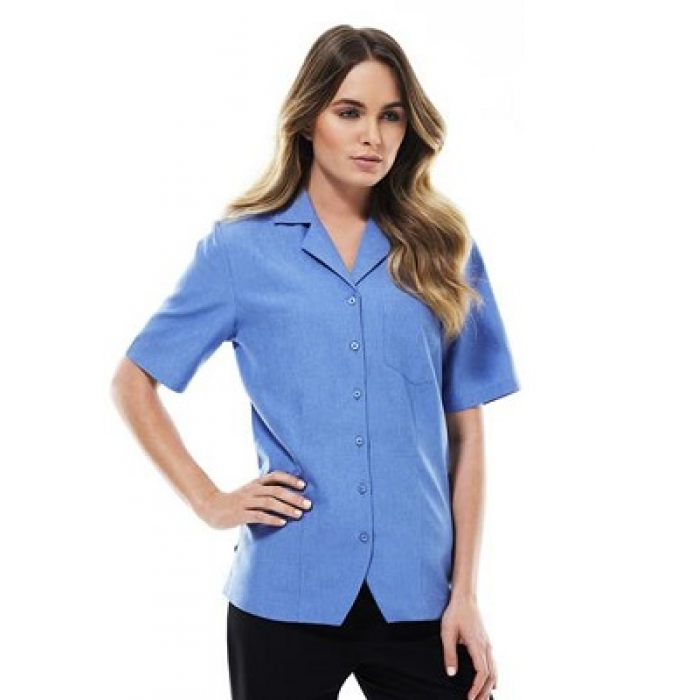 Oasis Plain S/S Overblouse - Ladies
