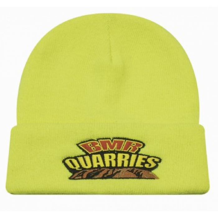 Luminescent Safety Acrylic Beanie - One Colour