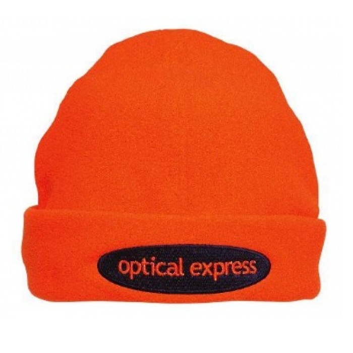 Luminescent Safety Beanie - Micro-fleece