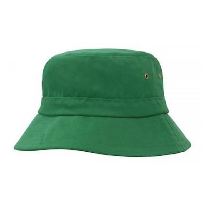 Brushed Sports Twill - Youth Bucket Hat