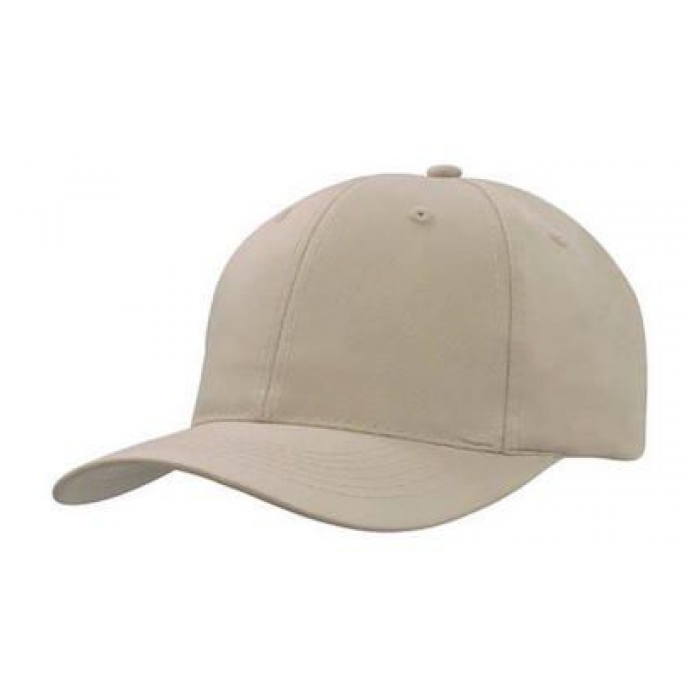 Breathable Poly Twill Cap - 6 Panel