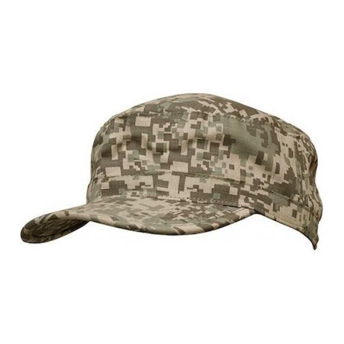 Camouflage Caps - Ripstop Digital Camo Military Cap