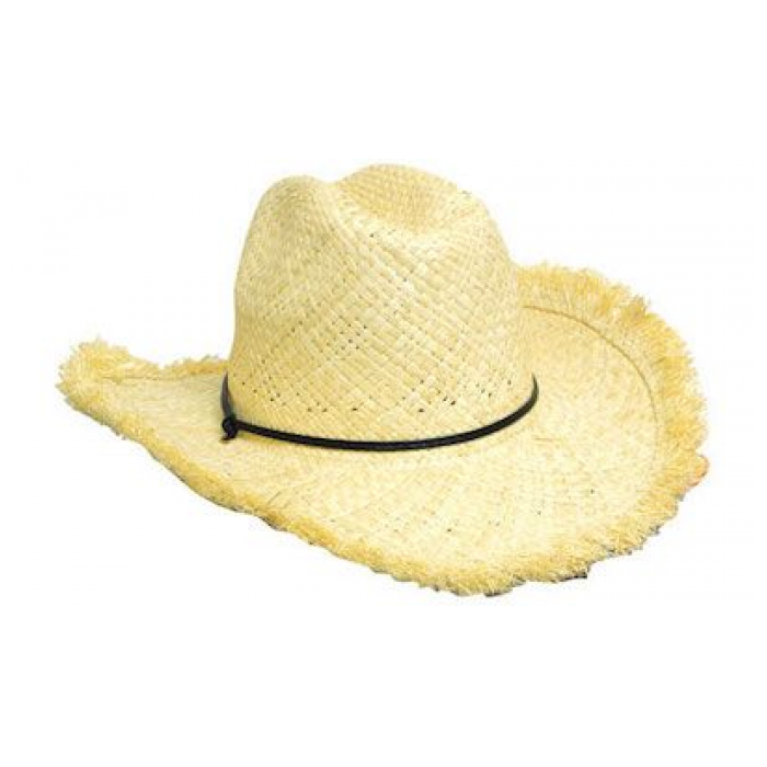 Frayed Edge Cowboy - Straw Hat