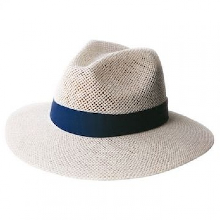 Madrid Style String -White Straw Hat