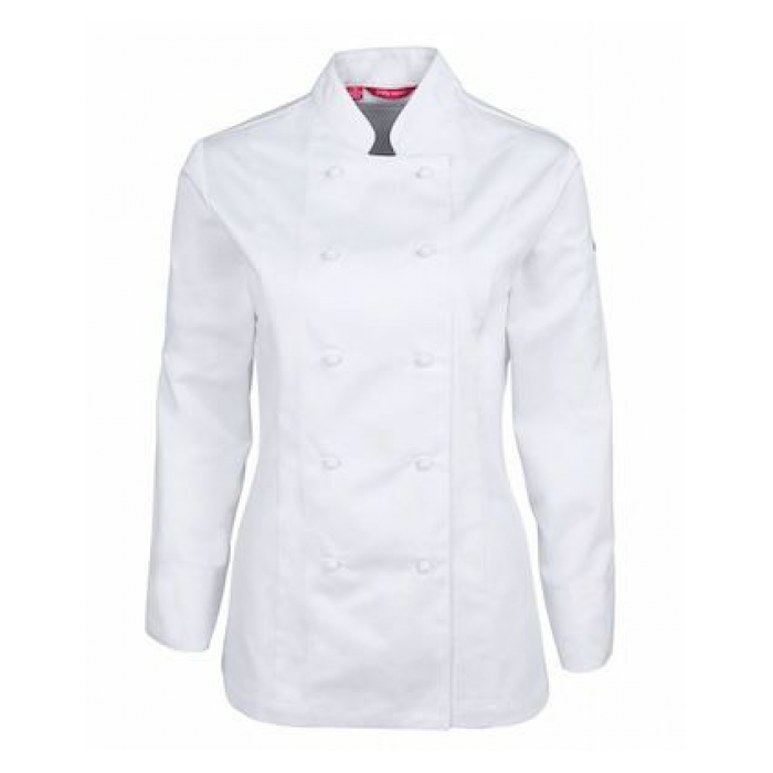 Vented L/S Chef's Jacket - Ladies