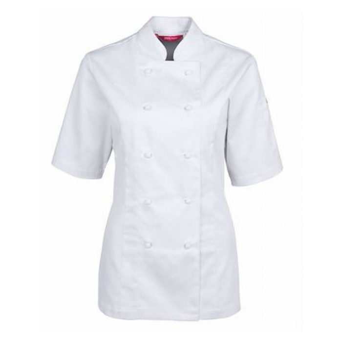 Vented S/S Chef's Jacket - Ladies