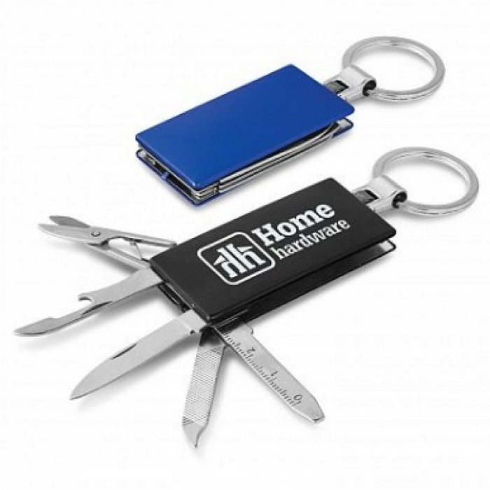 Multifunction Metal Key Ring