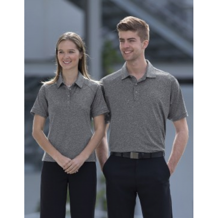 Melange Dri Gear Polo - Mens
