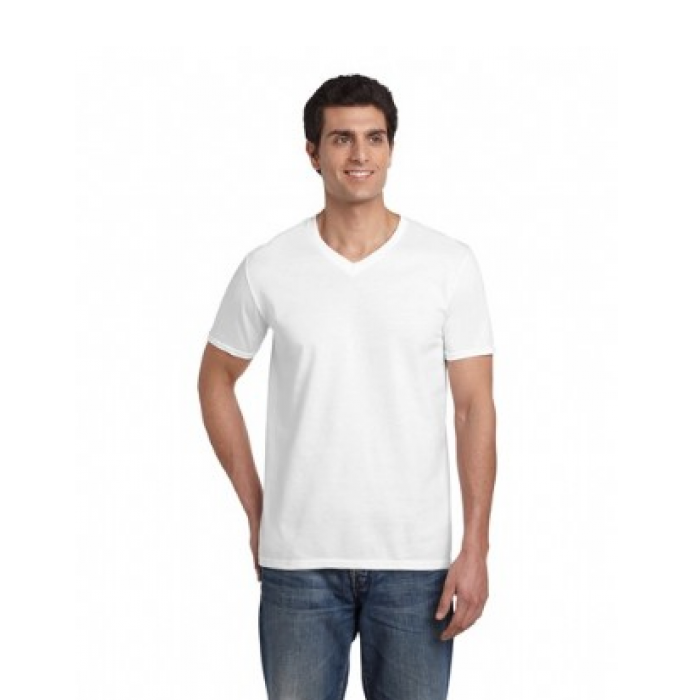 Softstyle V-Neck T Shirt - Adult