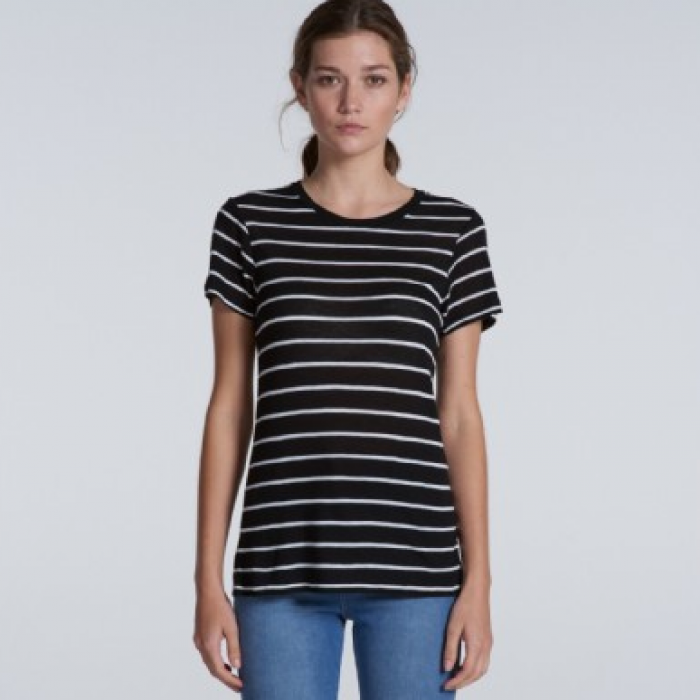 Basic Stripe Tee - Ladies