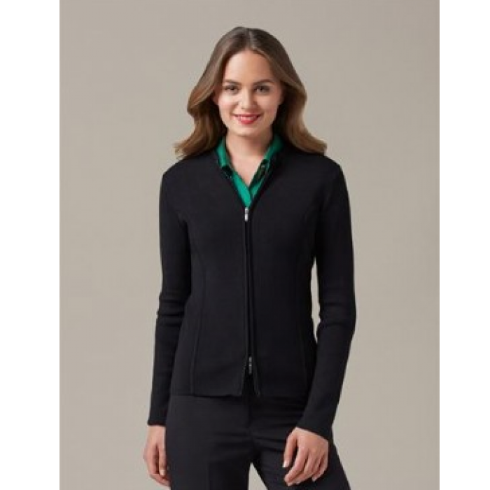 2 Way Zip Cardigan - Ladies