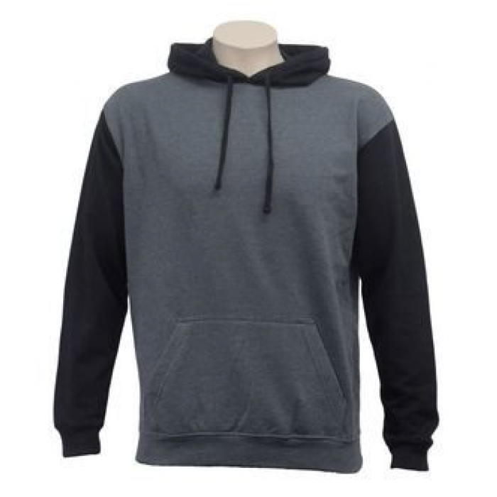 Contrast Pullover Hood - Adults