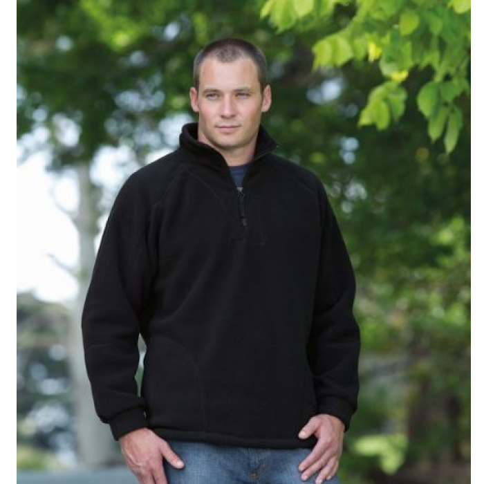 Detailed Polar Fleece Pullover - Adult