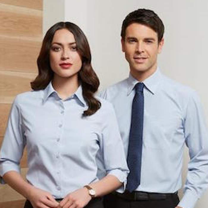 L/Sleeve Corporate Shirt - Mens - OSLSC