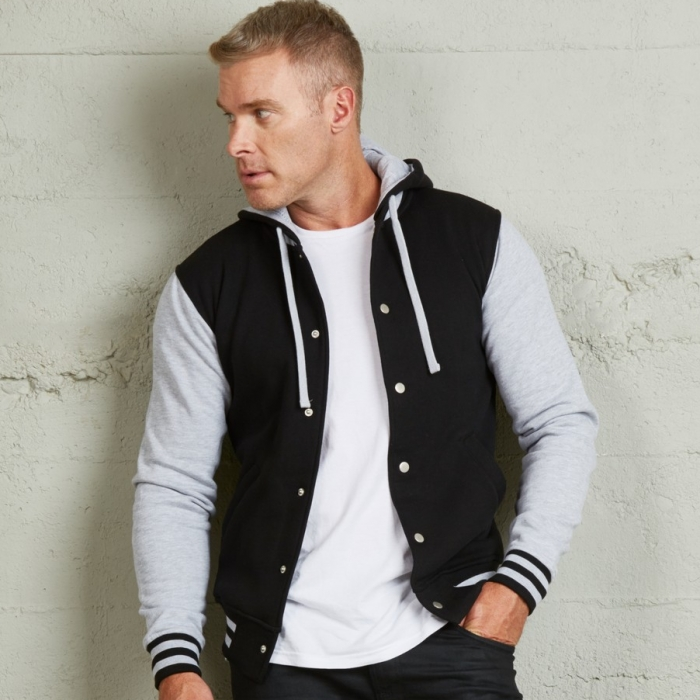 Hooded Letterman