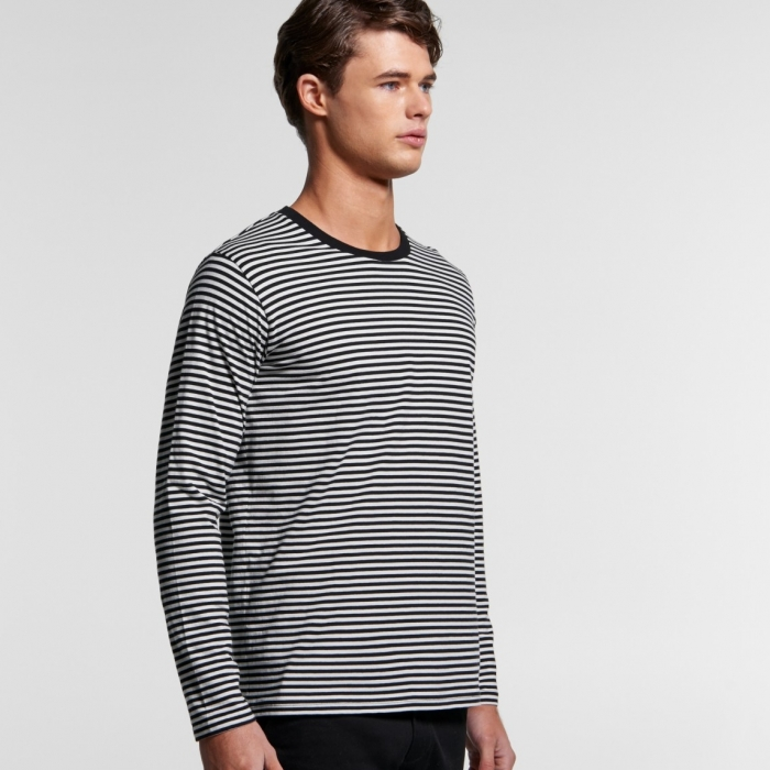 Bowery Stripe Long Sleeve Tee