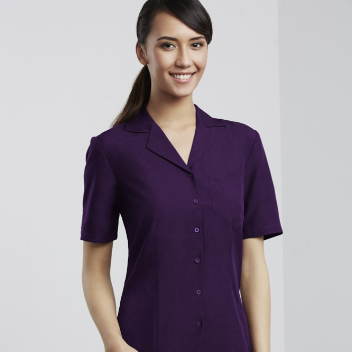 Oasis Ladies  Plain S/S Overblouse