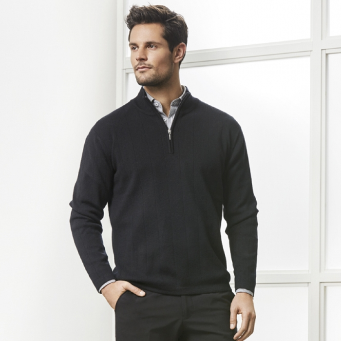 80/20 Wool-Rich Pullover - Mens