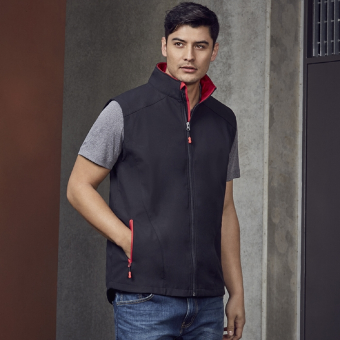 Geneva Soft Shell Vest - Mens