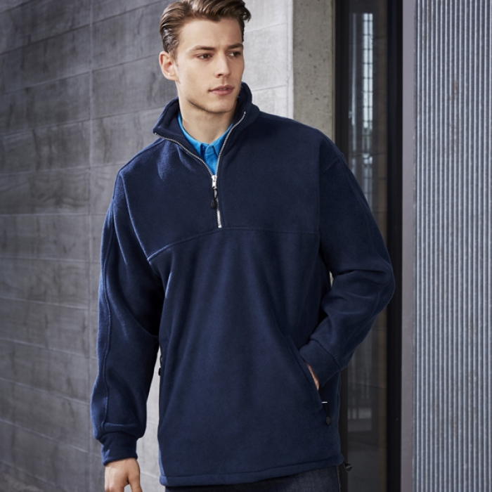 Heavy Weight 1/2 Zip Winter Fleece - Mens
