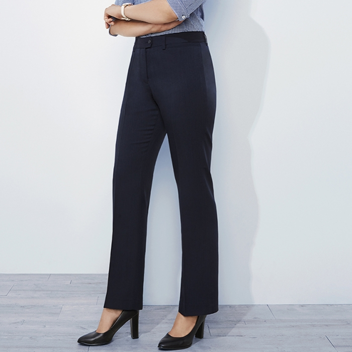 Cool Stretch Ladies Plain Relaxed Fit Pant