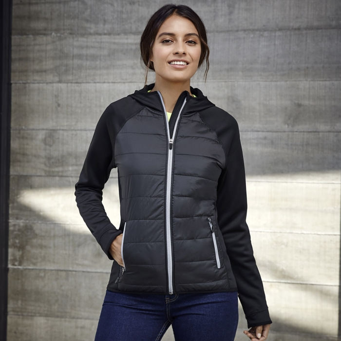 Stealth Tech Jacket Hoodie - Ladies
