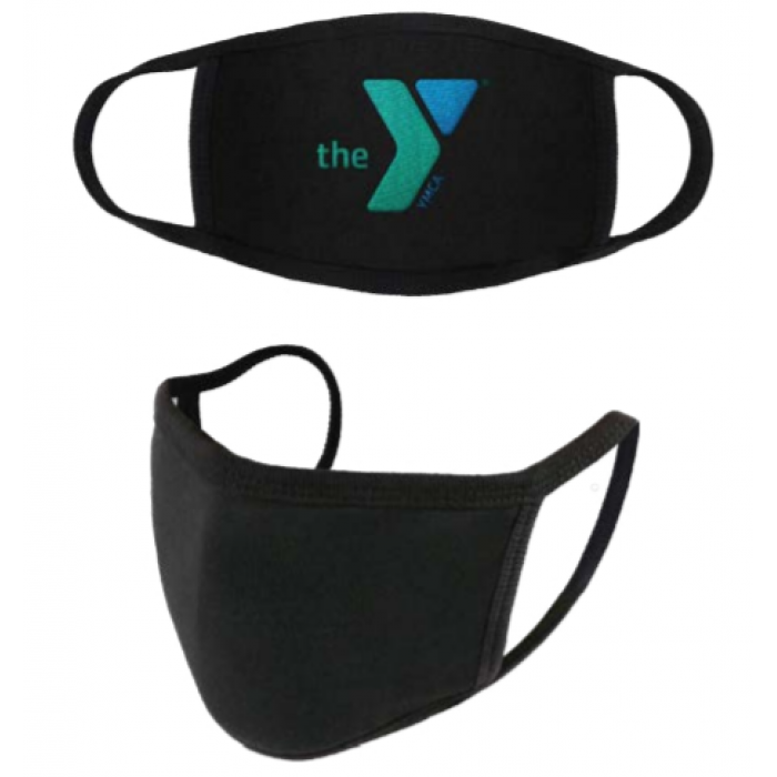 YOUTH - 2 LAYER FACE MASK - 95% POLYESTER / 5% SPANDEX
