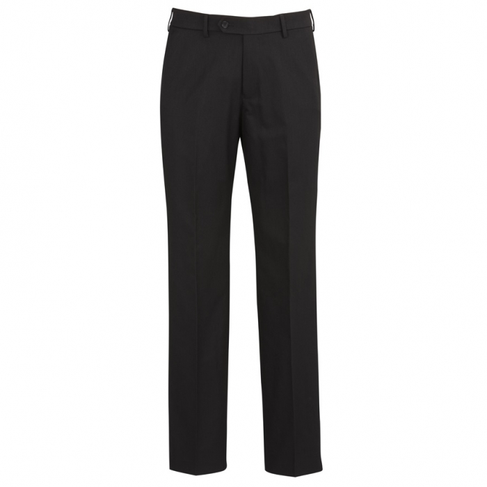 Cool Stretch Mens Flat Front Pant - Reg & Stout