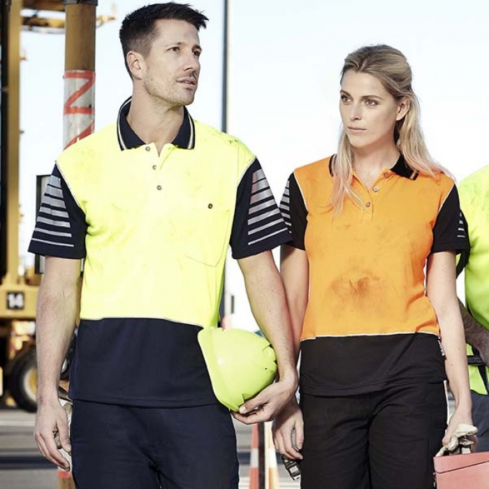 Hi Vis Zone Polo - Mens