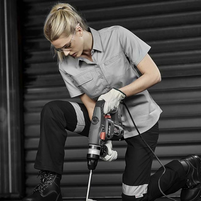 Lightweight Tradie S/S Shirt - Womens