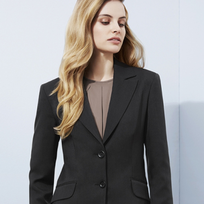 Cool Stretch Longline Jacket - Ladies
